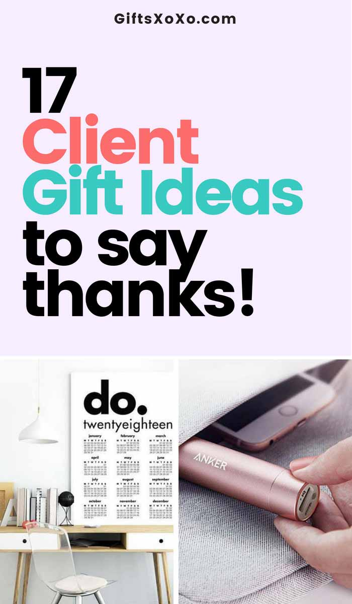 Customer retention is crucial to growth of your company! Here are 17 Customer/ Client Gift Ideas to Say Thanks. Via Giftsxoxo.com