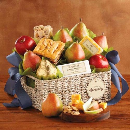 Fruit-Basket | Sympathy Gift Ideas
