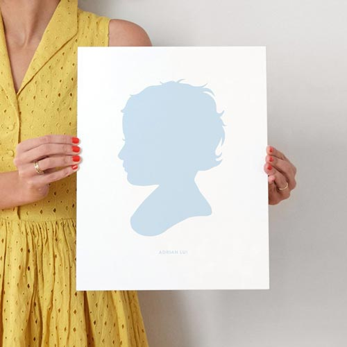 Silhouette-portrait | Photo Gift Ideas - Giftsxoxo.com