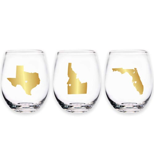 Stemless-Wine-Glass | Personalized Gift Ideas - giftsxoxo.com