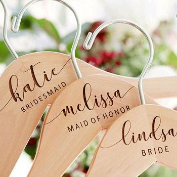 Bridal-Dress-Hanger | Bridesmaid Gifts