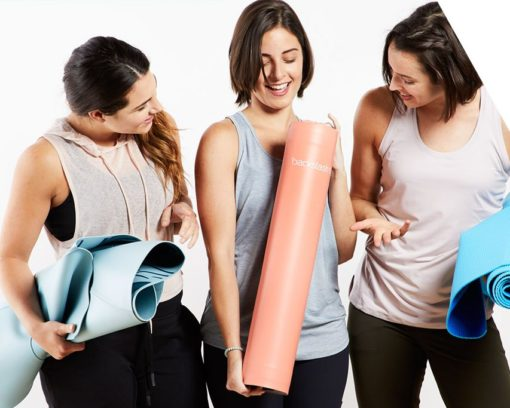 Backslash Fit Self-Rolling Smart Yoga Mat