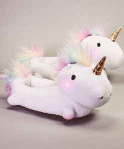 Enchanted Light-Up Unicorn Slippers
