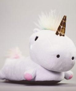 Enchanted Light-Up Unicorn Slippers