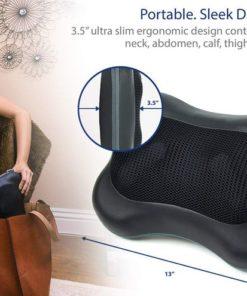 Zyllion Shiatsu Back Neck Massage Pillow