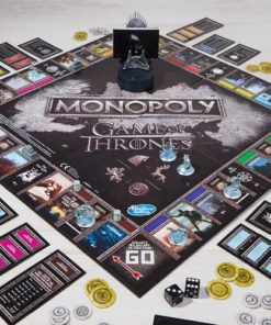 When you play the Game of Thrones Monopoly, you win or you die. Everyone's favourite fast-dealing property game gets a noble makeoover.