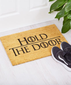 Pay domestic tribute to the saddest moments of the Game of Thrones. Game of Thrones Hold the door doormat.