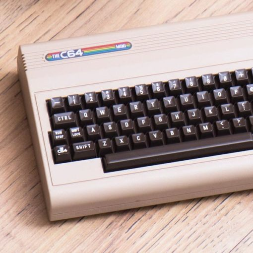 commodore 64 mini. See what they've done here? An awesome Game Boy collection of 64 classic games.