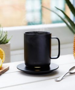 Forgotten your hot drink and now it's cold? Not any more. This Ember temperature control smart mug lets you set your own drink temperature.