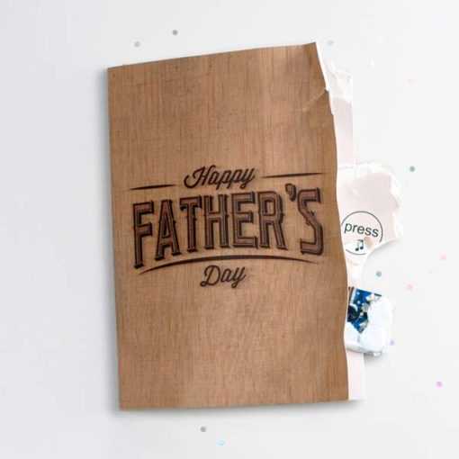 Never Ending Father's Day Card emits delightful fart noises for 3 hours – just like Dad used to. Maybe.