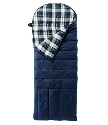 DeluxFlannel Lined Sleeping Bag | 21 Clever Gift Ideas for Campers & Hikers (BEST Outdoor gifts Ever!)