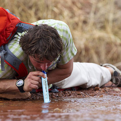 LifeStraw Water Filter | 25 Clever Gift Ideas for Campers & Hikers (BEST Outdoor gifts Ever!)