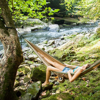Lightweight Portable Hammock for women | 21 Clever Gift Ideas for Campers & Hikers (BEST Outdoor gifts Ever!)