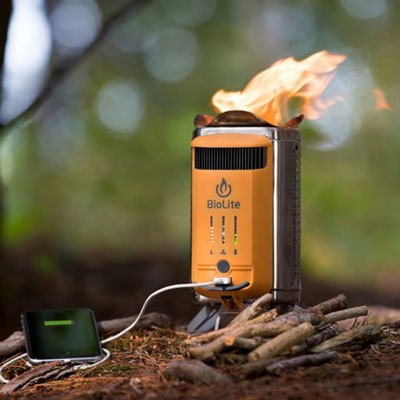 Portable Wood Burning Campstove | 21 Clever Gift Ideas for Campers & Hikers (BEST Outdoor gifts Ever!)