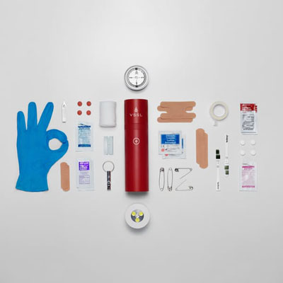 Sleek First Aid Flashlight | 21 Clever Gift Ideas for Campers & Hikers (BEST Outdoor gifts Ever!)