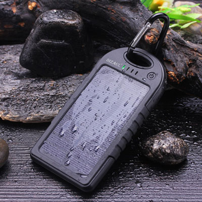 Solar Power Bank | 21 Clever Gift Ideas for Campers & Hikers (BEST Outdoor gifts Ever!)
