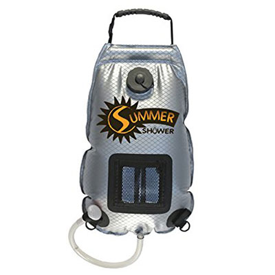 Summer Solar Shower | 21 Clever Gift Ideas for Campers & Hikers (BEST Outdoor gifts Ever!)